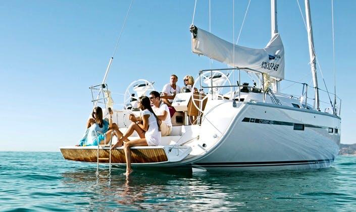 Charter Bavaria 46 Cruiser - Maladroxia Cruising Monohull in Portisco, Italy