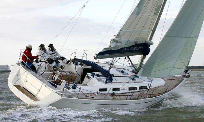 Charter Dufour 425 Gran Large - Angedras Cruising Monohull in Portisco, Italy