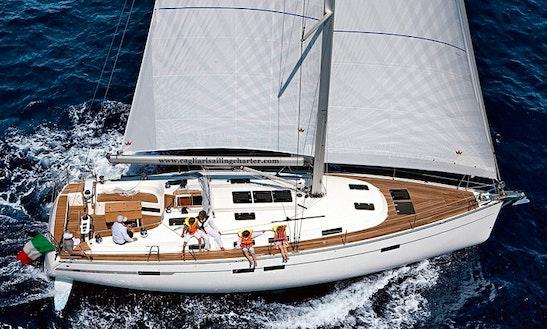Charter Bavaria 51 Cruiser - Pan Di Zucchero Cruising Monohull In Alghero, Italy