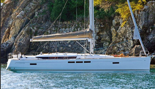 Charter 52' Sun Odyssey 519 Cruising Monohull In Messina, Italy