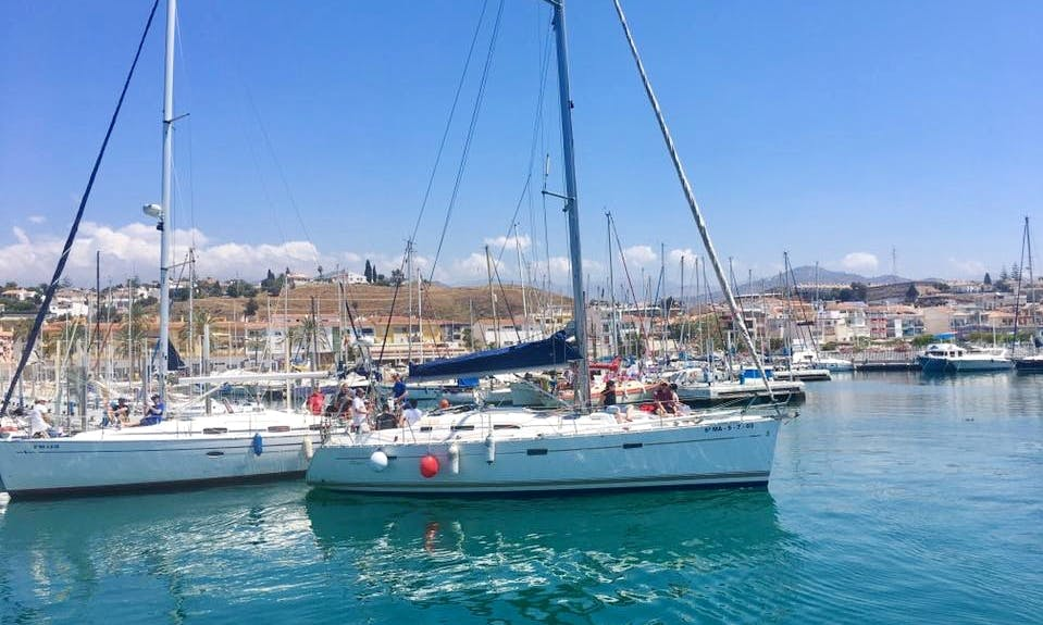 Charter a Beautiful Sailboat for Up to 8 Friends in Málaga, Spain