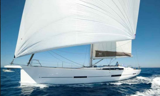 Charter 56' Dufour 560 Cruising Monohull In Messina, Italy
