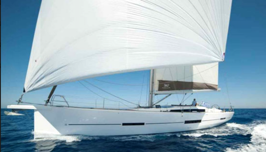 Charter 56' Dufour 560 Cruising Monohull In Messina, Italy
