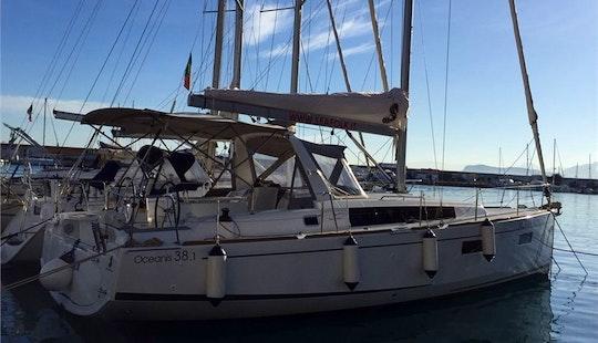 Charter 38' Oceanis 381 Cruising Monohull In Messina, Italy
