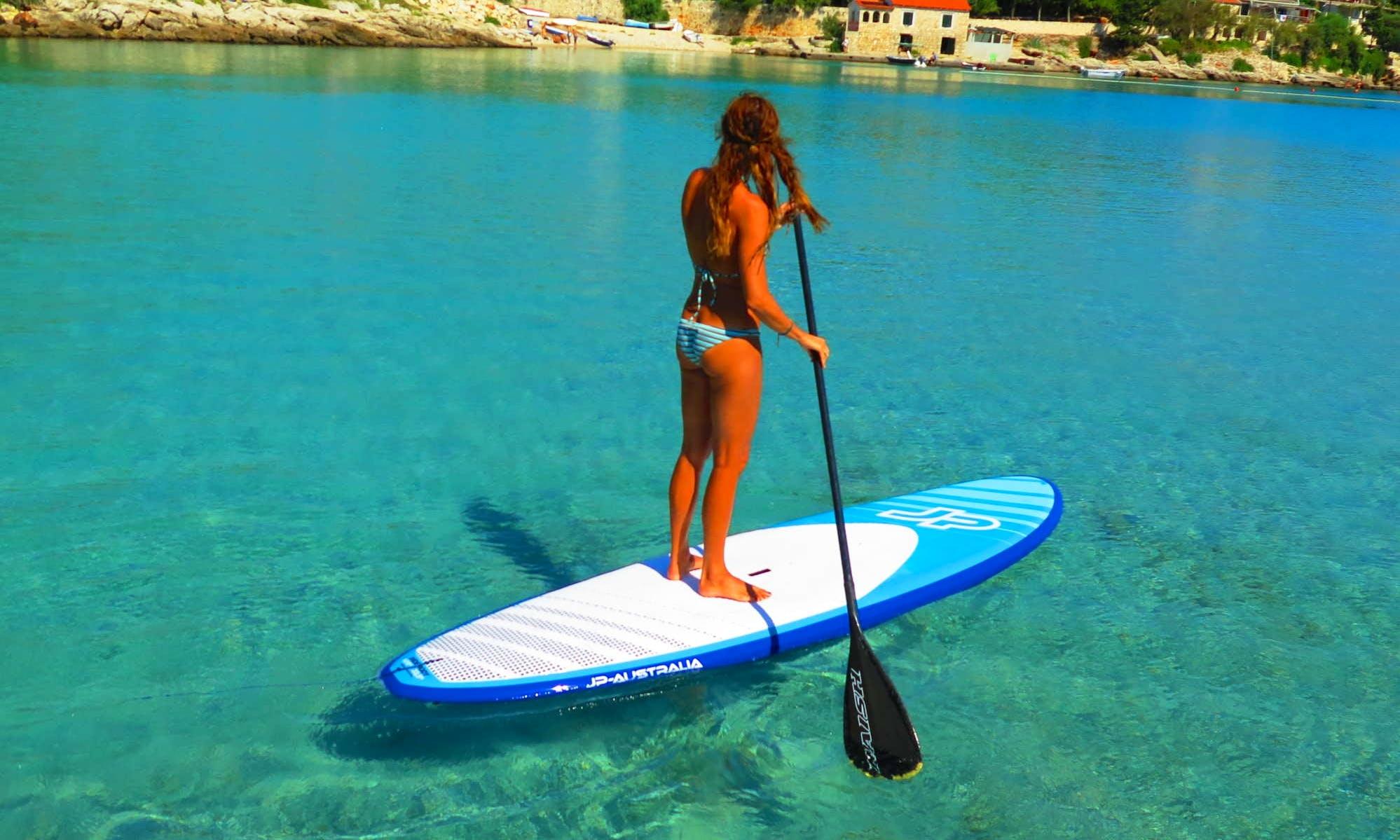 Enjoy Stand Up Paddleboard in Milna, Island Vis, Croatia