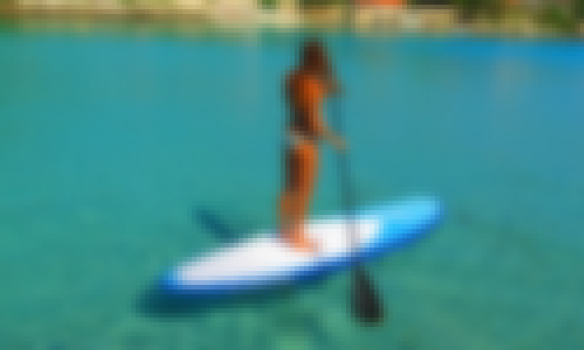 Enjoy Stand Up Paddleboard in Milna, Island Vis, Croatia