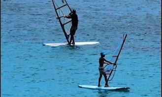 Windsurfing Lessons in Milna, Island Vis, Croatia