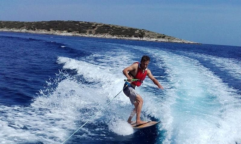Enjoy Wakeboarding in Milna bay,Island Vis Croatia