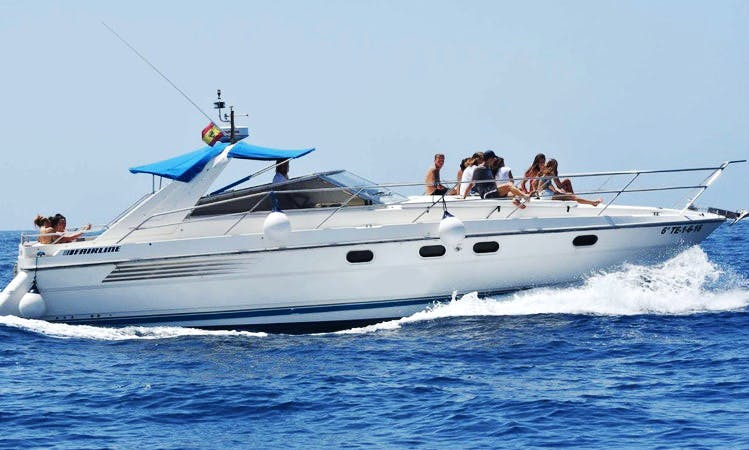 Charter 49' Motor Yacht in Costa Adeje, Spain