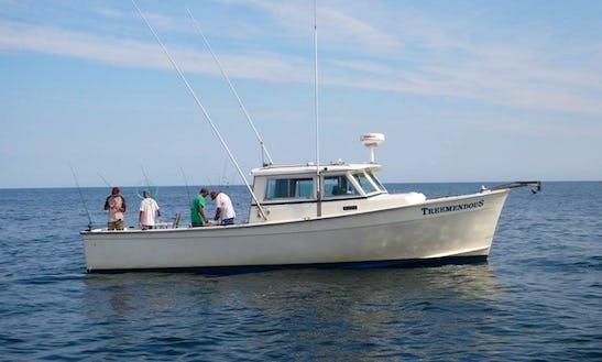 Diesel Powered Charterboat In Brigantine