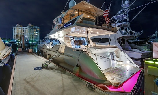 Motor Yacht Rental In Bal Harbour