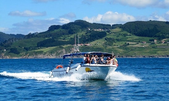 Charter A Center Console In Bermeo, Spain