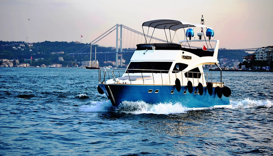 A Very Open And Spacious Yacht For Charter In İstanbul
