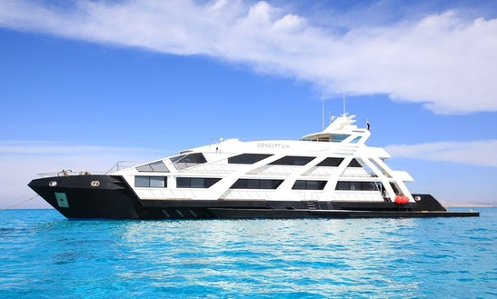 Charter 148' My Conceptum Power Mega Yacht In Red Sea Governorate, Egypt