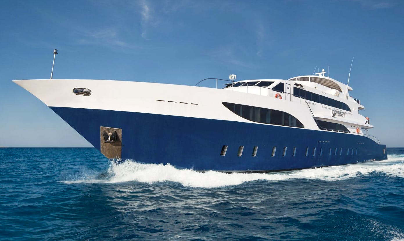 Charter 141' MY Odyssey Power Mega Yacht in Red Sea Governorate, Egypt