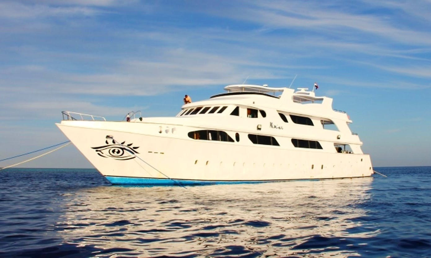 Charter 131' MY Nimar Power Mega Yacht in Red Sea Governorate, Egypt
