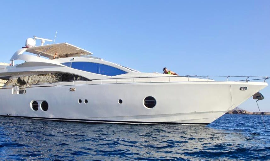 Charter 90' Aicon Power Mega Yacht in Portals Nous, Spain
