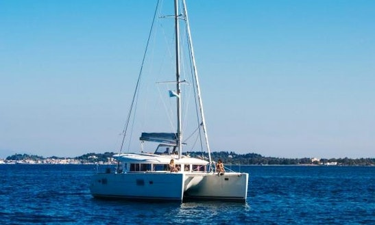 Charter 39' Chios Lagoon Cruising Catamaran In Kontokali, Greece