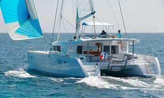 Charter 46' Artemis Lagoon Cruising Catamaran in Kontokali, Greece