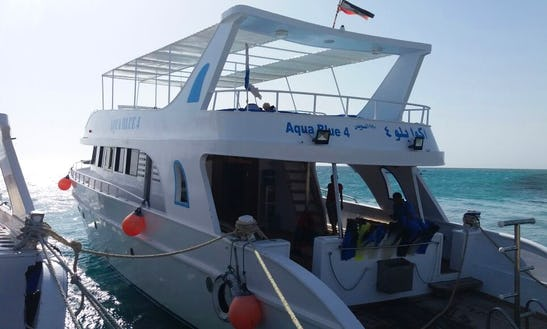 Charter Aqua Blue 4 Motor Yacht In Red Sea Governorate, Egypt