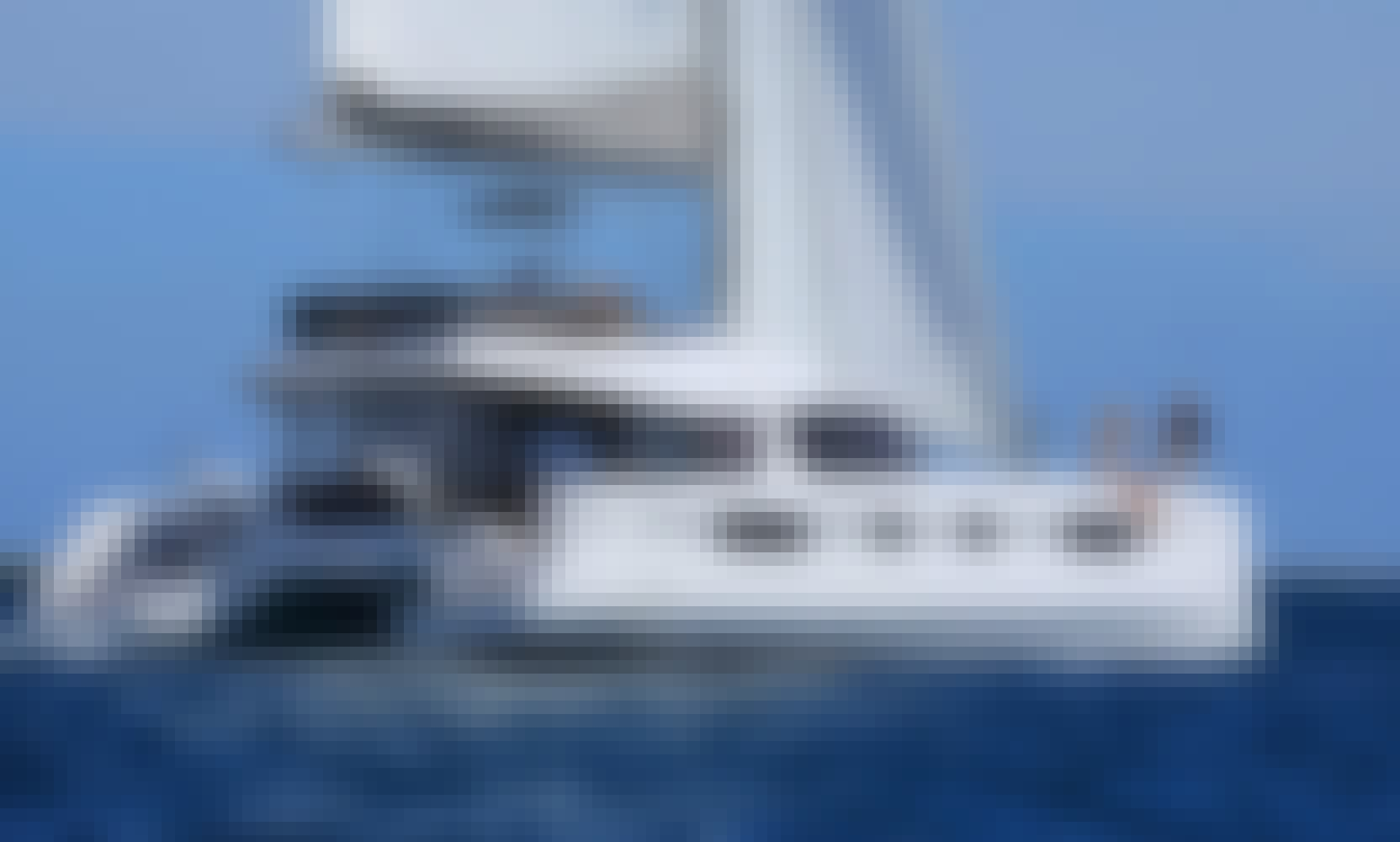 Charter 45' Vesselina Nautitech  Cruising Catamaran in Kontokali, Greece