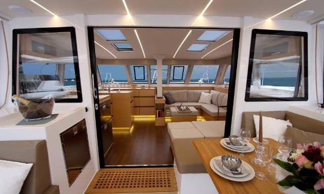 Charter 45' Vesselina Nautitech  Cruising Catamaran in Kontokali, Greece