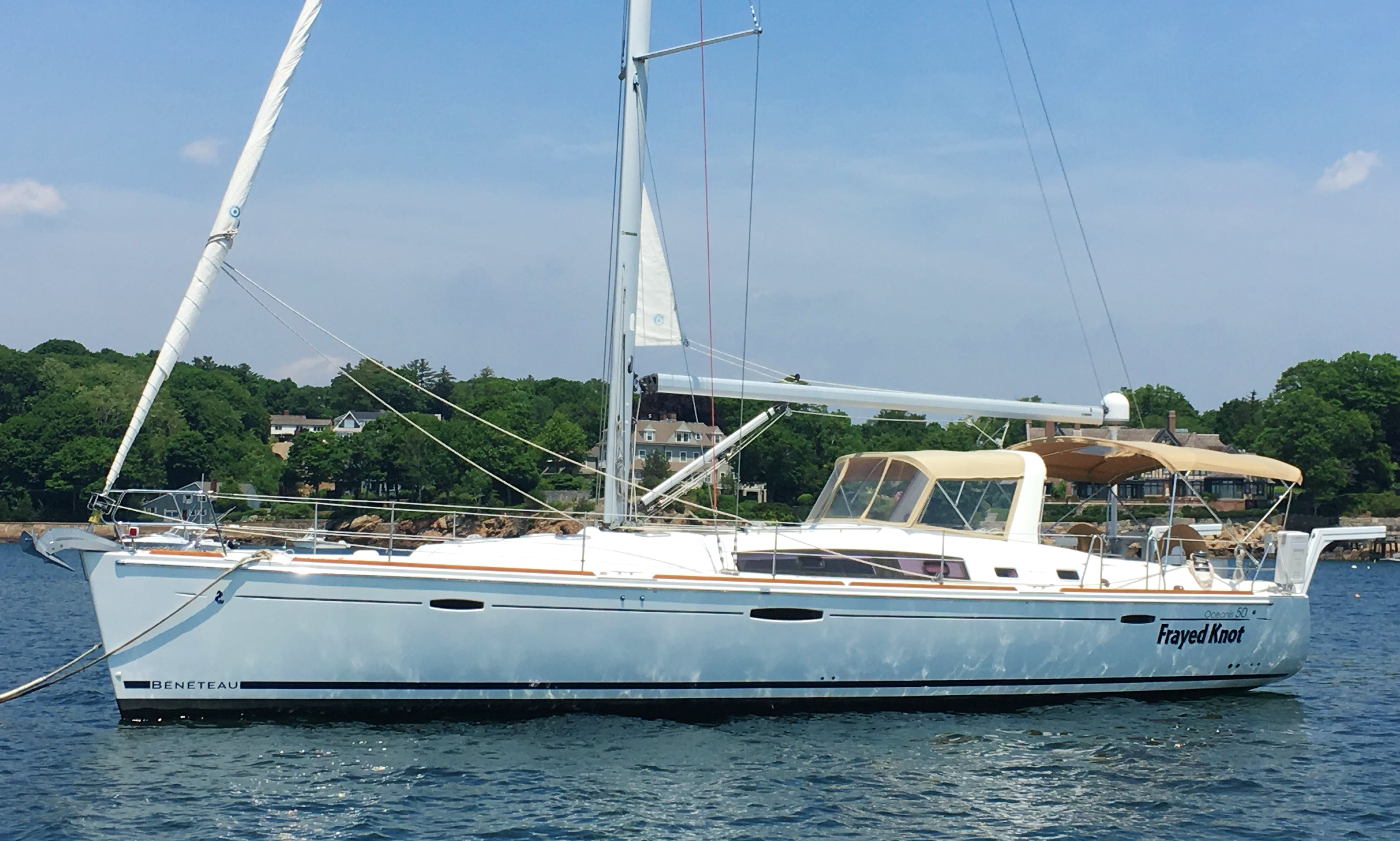"Charter 50ft ""Frayed Knot"" Cruising Monohull In Manchester-by-the-Sea, Massachusetts"
