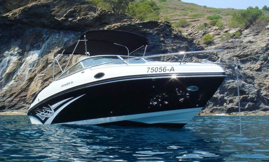 Charter Rinker 246 Cb - Cafe With Jofi Bowrider In Portocolom, Spain