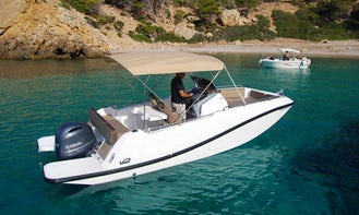 Rent V2 7.0 - Pardal of Moro 613/2020 Center Console in Portocolom, Spain