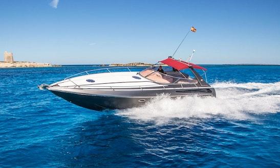 Charter 43' Sunseeker Tomahawk Motor Yacht In Balears, Spain