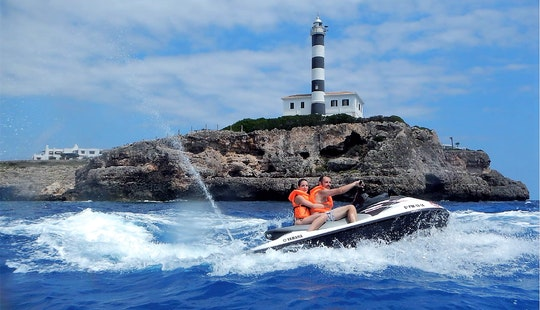 Rent Yamaha Vx 1100 Jet Ski In Portocolom, Spain