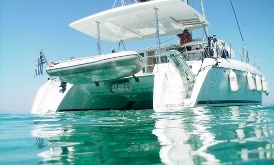 Cruising Catamaran Rental In Ornos