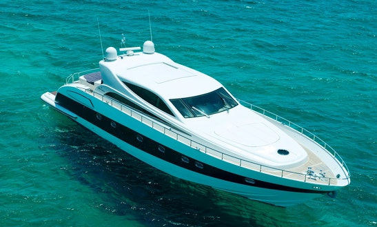 Charter A 78 ' Motor Yacht In Eivissa, France For Up To 12 Persons