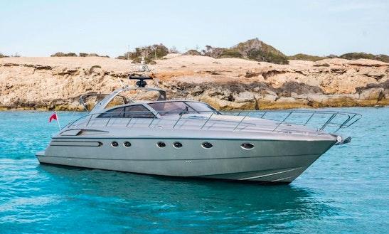 Charter 56' Princess V55 Power Mega Yacht In Balears, Spain