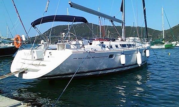 Charter 49' Sun Odyssey Cruising Monohull in Lefkada, Greece