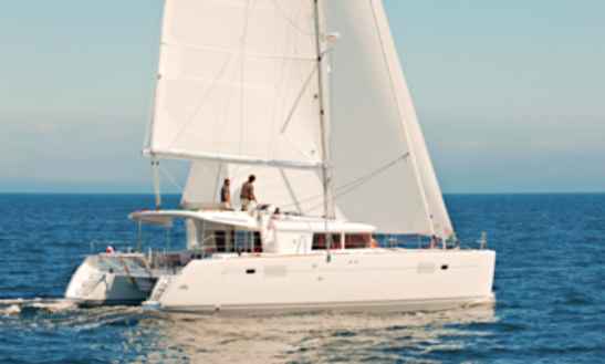 Charter 45' Lagoon Cruising Catamaran In Lefkada, Greece