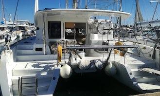 Charter 38' Deep Blue Lagoon Cruising Catamaran in Kontokali, Greece