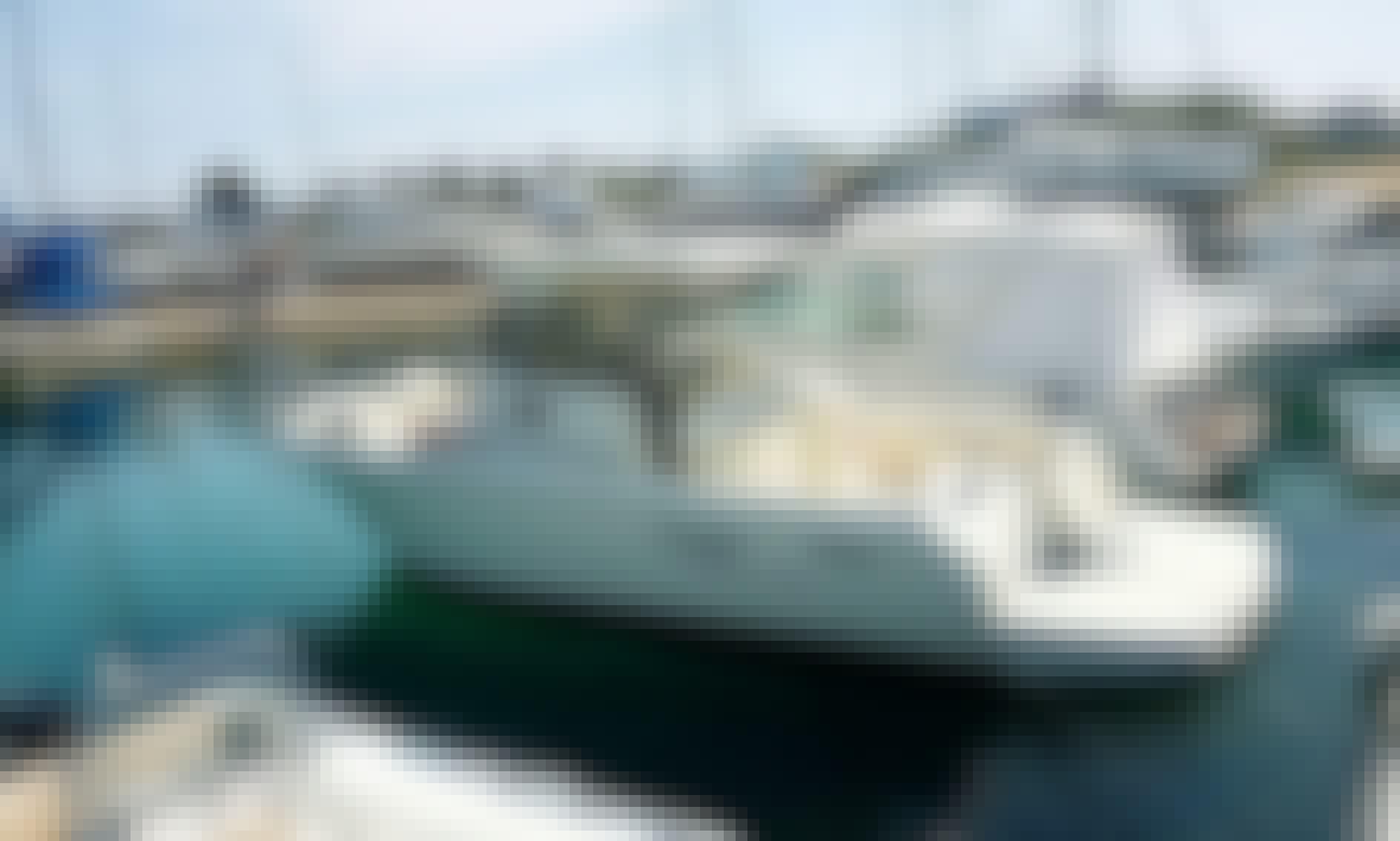 Boating Expedition Aboard 8 Person Cuddy Cabin/Walk Around in Gallipoli, Puglia