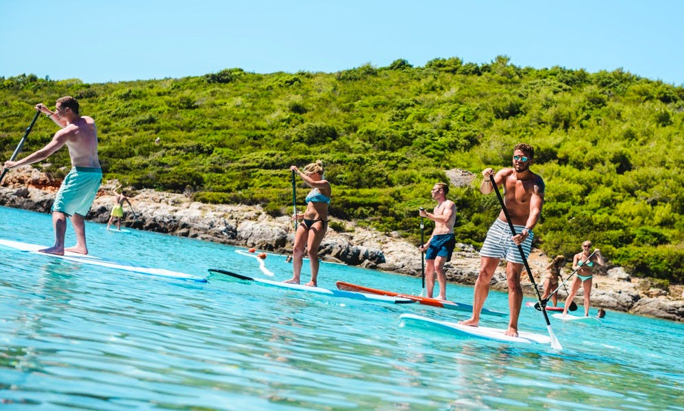Paddleboard guided tour in Milna, Island Vis, Croatia