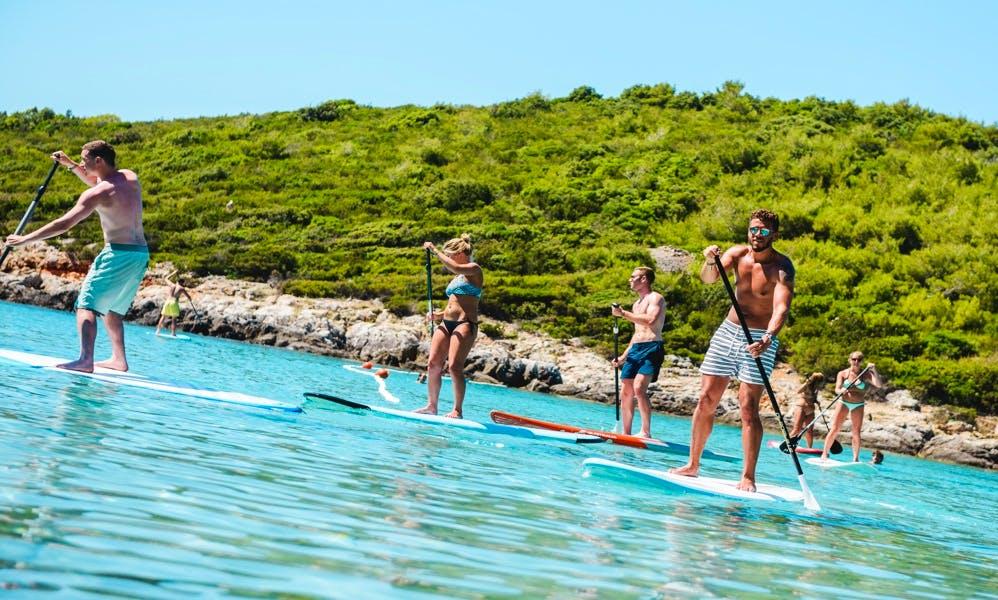 Paddleboard guided tour in Milna, Island Vis, Croatia