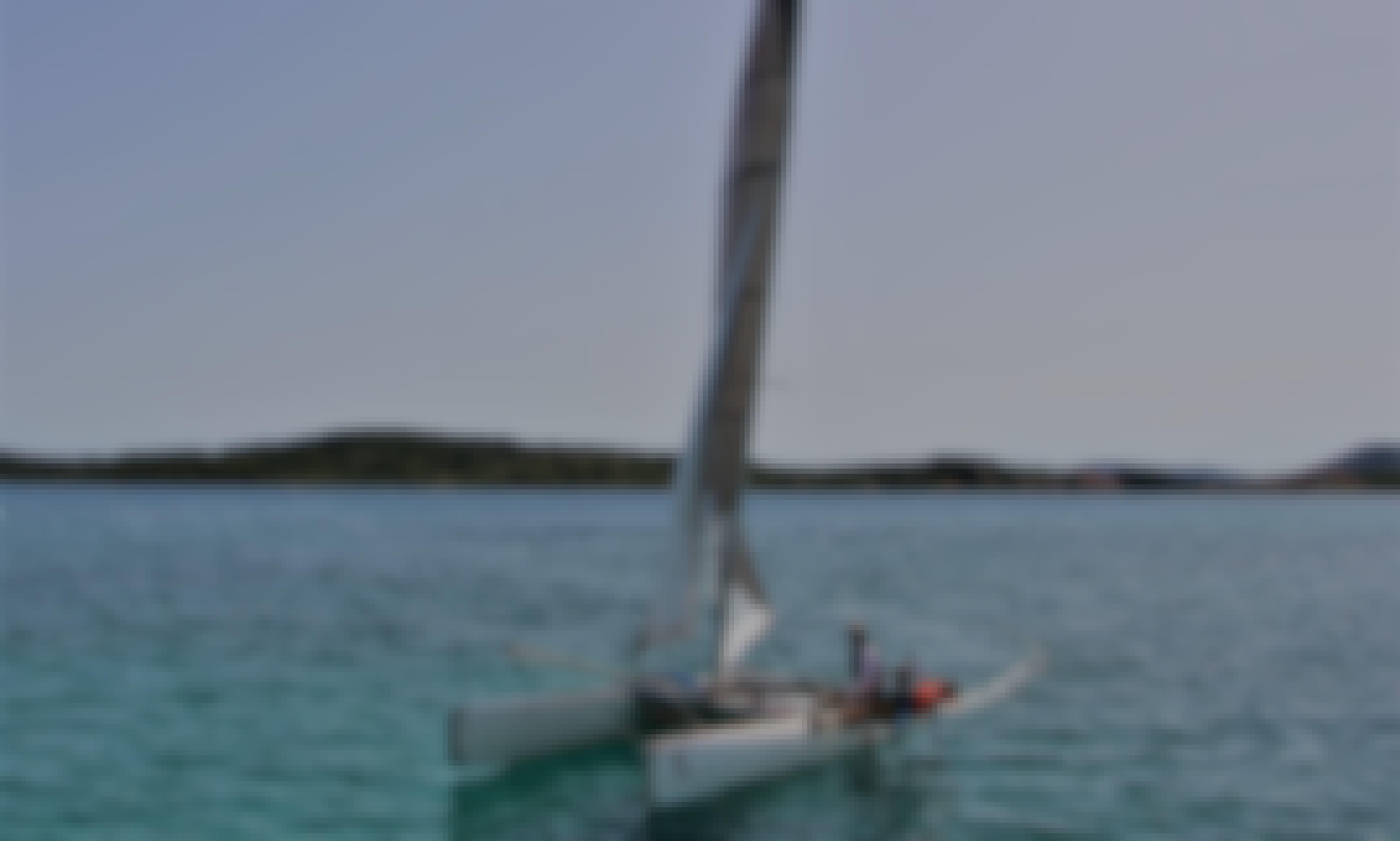 Charter a Beach Catamaran in Milna, Island Vis, Croatia