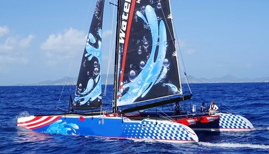 Adventure Sail To Anguilla Aboard A Racing Catamaran In Sint Maarten