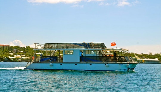 Sun Deck Catamaran In Hamilton Parish