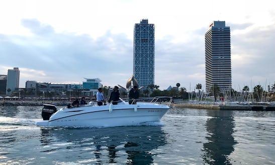 Motor Yacht Rental In Barcelona