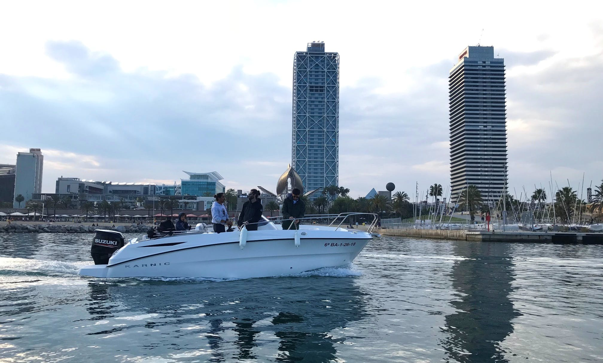 2018 Karnic 2251 mkII boat rental in Barcelona