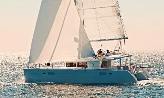 Charter 46' Violetta Lagoon Cruising Catamaran In Kontokali, Greece