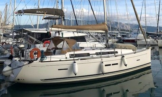 Charter 39' Dufour 405 Cruising Monohull In Kontokali, Greece