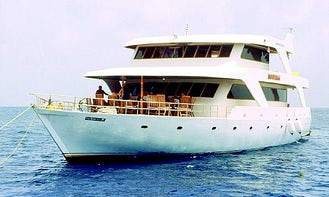 Beautiful Yacht Rental for 16 people in MALE NORTH, MALDIVES! | Minimum 6 days rental