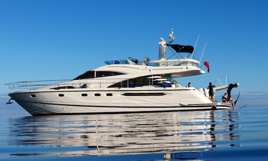 Charter Fairline Squadron 58 Power Mega Yacht In Amalfi, Italy