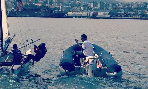Charter 20' Rigid Infltable Boat in Vigo, Spain